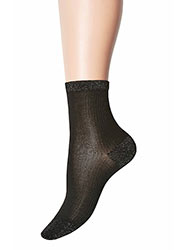 Jonathan Aston Lurex Heel And Toe Socks