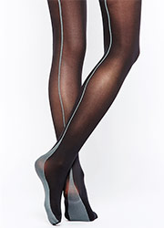 Jonathan Aston Opaque Backseam Tights Zoom 2