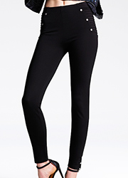 Jonathan Aston Pintuck Leggings Zoom 2