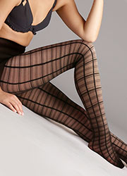 Jonathan Aston Sheer Check Tights
