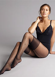 Jonathan Aston Spot Backseam Tights