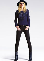 Jonathan Aston Twill Leggings Zoom 2
