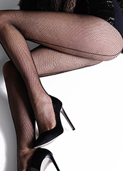 Jonathan Aston Fishnet Tights With Backseam Zoom 2