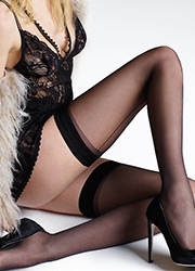 Jonathan Aston Seam & Heel Hold Ups Zoom 2