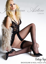Jonathan Aston Seam And Heel Hold Ups