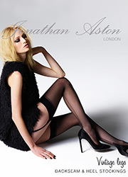 Jonathan Aston Seam And Heel Stockings
