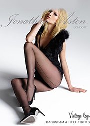 Jonathan Aston Seam and Heel Tights Zoom 1