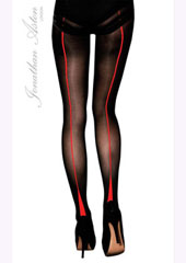 Jonathan Aston Opaque Backseam Tights
