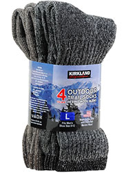 Kirkland Signature Mens Outdoor Trail Socks (4PP)