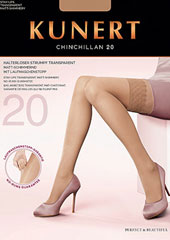 Kunert Chinchillan 20 New Lace Hold Ups Zoom 1