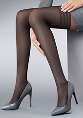 Kunert Fly And Care 40 Denier New Lace Hold Ups Zoom 2