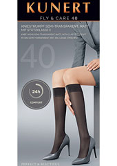 Kunert Fly And Care 40 Knee Highs Zoom 1
