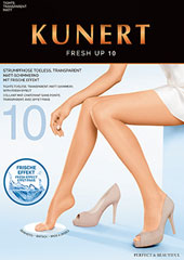 Kunert Fresh Up 10 Toeless Tights