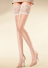 Kunert Satin Look 20 New Lace Hold Ups Zoom 2