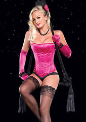 Leg Avenue Laurie Underwired Boned Corset (81274)
