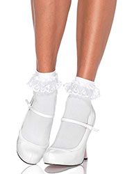 Leg Avenue Anklet With Lace Ruffle 3013 Zoom 2