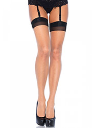 Leg Avenue Backseam With Cuban Heel Stockings (1024) Zoom 2