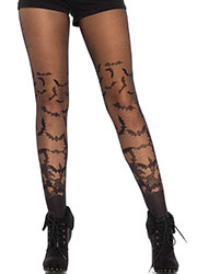 Leg Avenue Bat Wing Sheer Tights Zoom 1