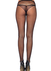 Leg Avenue Fishnet Tights With Side Keyhole And Butterfly Detail Zoom 3