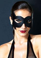Leg Avenue KINK Faux Leather Fantasy Cat Eye Mask