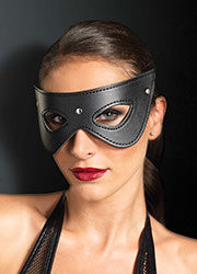 Leg Avenue KINK Faux Leather Fantasy Studded Eye Mask