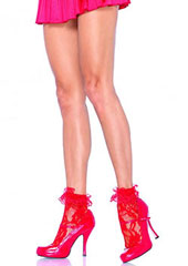 Leg Avenue Lace Anklet With Ruffle (3030)