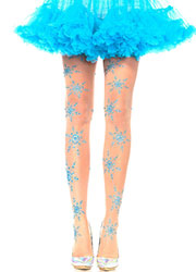 Leg Avenue Let It Snow Glitter Tights