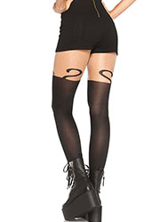 Leg Avenue Monkey Business Suspender Tights Zoom 2
