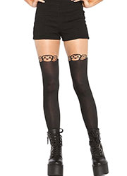 Leg Avenue Monkey Business Suspender Tights Zoom 1