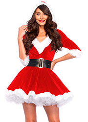 Leg Avenue Mrs Claus Costume Zoom 1