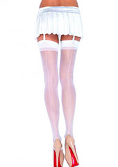 Leg Avenue Sheer Seamed Stockings (1000) Thumbnail