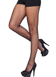 Leg Avenue Starlet Dotted Net Tights Zoom 1