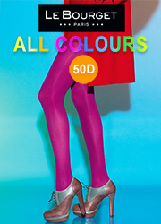 Le Bourget All Colours Slide Touch 50D Opaque Tights