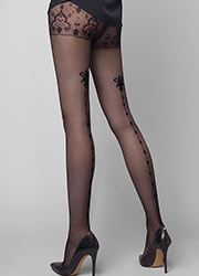 Le Bourget Allure Dentelle Venise Tights Zoom 2