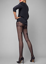 Le Bourget Allure Dentelle Venise Tights Zoom 1