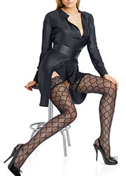 Le Bourget Allure Micro Tulle Hold Ups Zoom 1