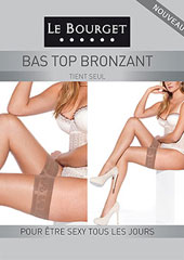 Le Bourget Teint Bronzant 15D Hold Ups Zoom 1