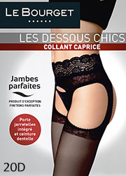 Le Bourget Caprice Suspender Tights Zoom 1