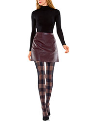 Le Bourget Couture Tartan Tights