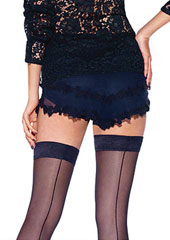 Le Bourget Desir Backseamed Hold Ups Zoom 2