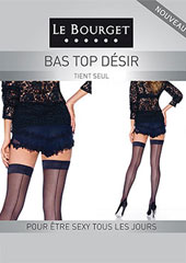 Le Bourget Desir Backseamed Hold Ups Zoom 1