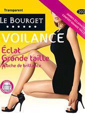 Le Bourget Eclat Touche de Brillance Plus Size Tights Zoom 1
