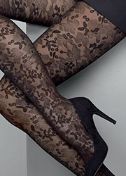 Le Bourget Heritage Dentelle Tights Zoom 2