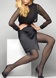 Le Bourget Heritage Luxe 30 Denier Tights Zoom 1