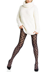 Le Bourget Legendaire Sheer Spot Tights
