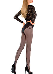 Le Bourget Mademoiselle Backseam Tights