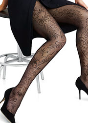 Le Bourget Mirage Floral Tights Zoom 2