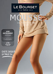 Le Bourget Mousse 15 Denier Plus Size Tights Zoom 1