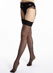 Le Bourget Satine 15 Denier Stockings Zoom 3