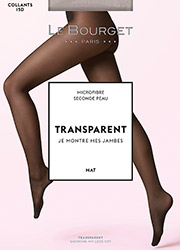 Le Bourget Transparent Mat 15 Tights Zoom 1